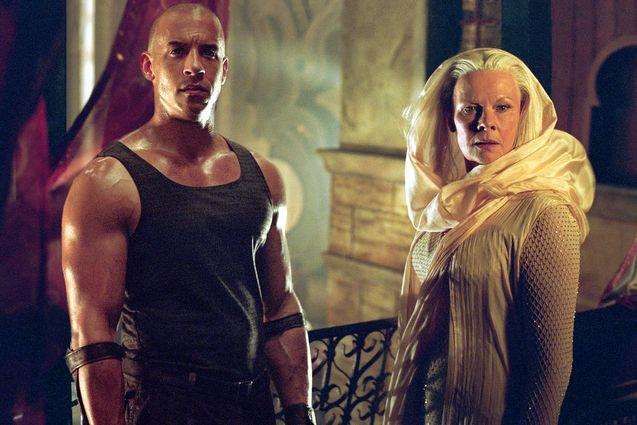 photo, Vin Diesel, Judi Dench
