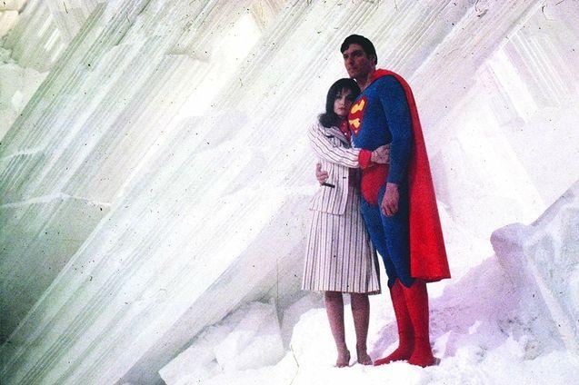 photo, Margot Kidder, Christopher Reeve