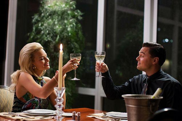 photo, Leonardo DiCaprio, Margot Robbie