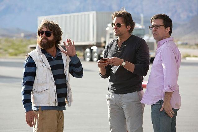 photo, Zach Galifianakis, Bradley Cooper, Ed Helms