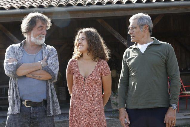 photo, Camille Aguilar, Gérard Lanvin, Olivier Marchal