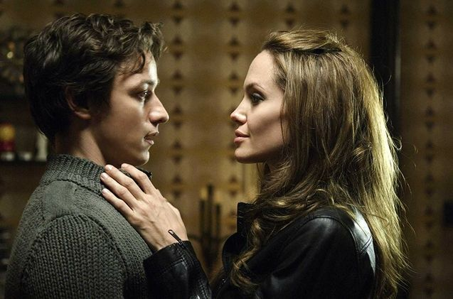 photo, James McAvoy, Angelina Jolie