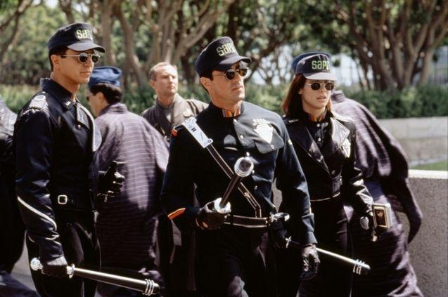 photo, Benjamin Bratt, Sylvester Stallone, Sandra Bullock
