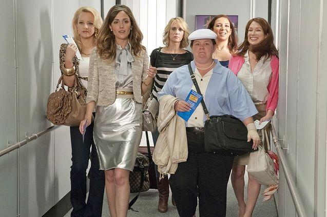 photo, Kristen Wiig, Maya Rudolph, Rose Byrne, Melissa McCarthy