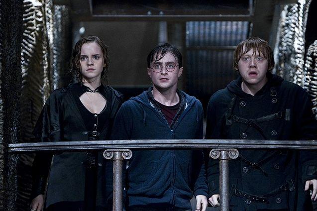 photo, Daniel Radcliffe, Rupert Grint, Emma Watson