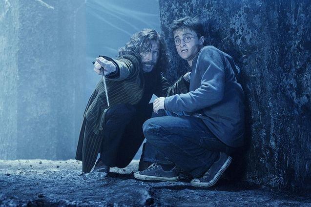 photo, Daniel Radcliffe, Gary Oldman