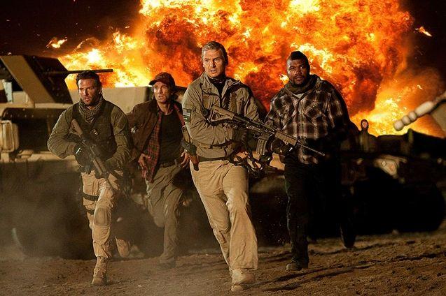 photo, Liam Neeson, Quinton 'Rampage' Jackson