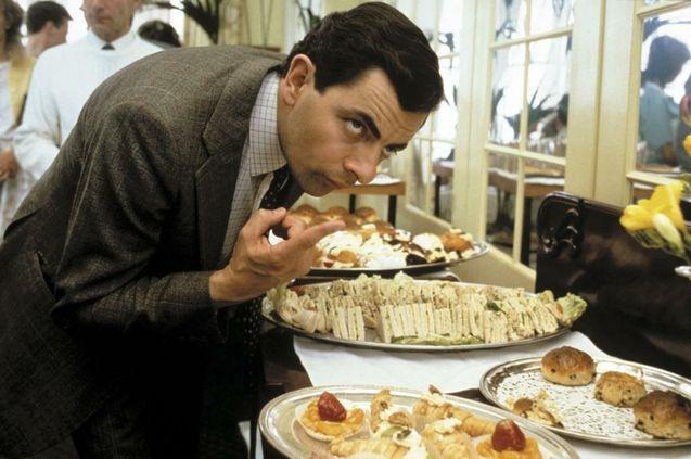 photo, Rowan Atkinson