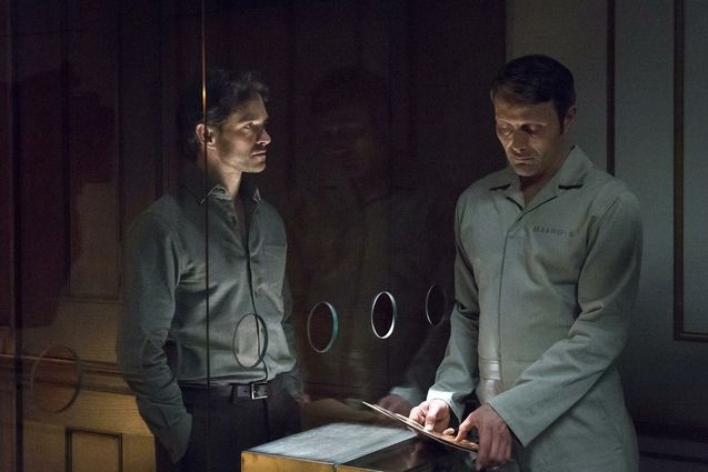 photo, Hugh Dancy, Mads Mikkelsen