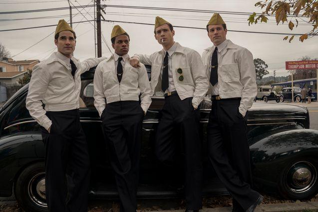 Photo Darren Criss, Jeremy Pope, David Corenswet, Jake Picking