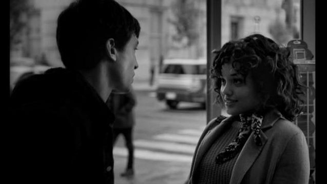 photo, Ezra Miller, Kiersey Clemons