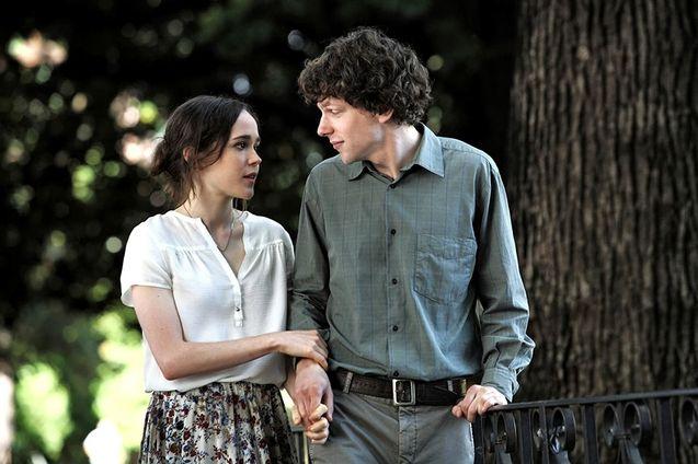 photo, Ellen Page, Jesse Eisenberg