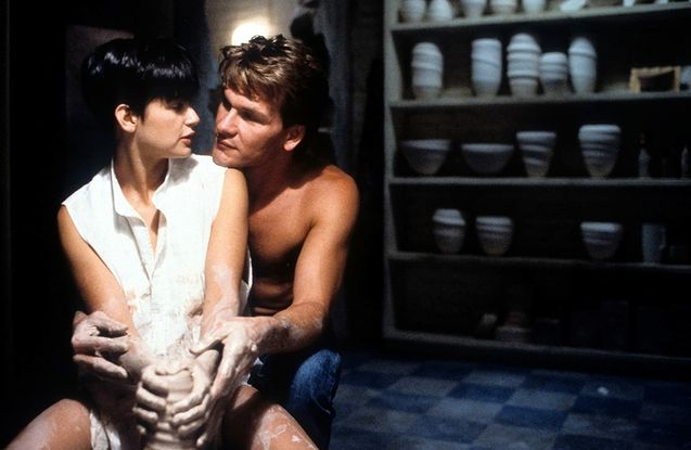 photo, Demi Moore, Patrick Swayze
