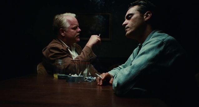 photo, Philip Seymour Hoffman, Joaquin Phoenix