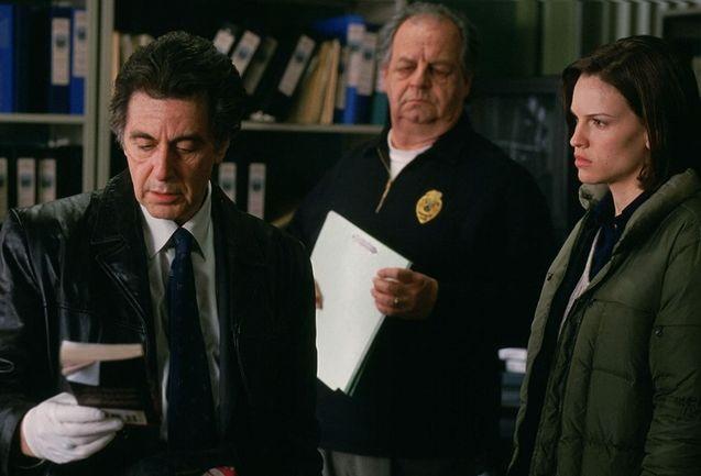 photo, Al Pacino, Paul Dooley, Hilary Swank