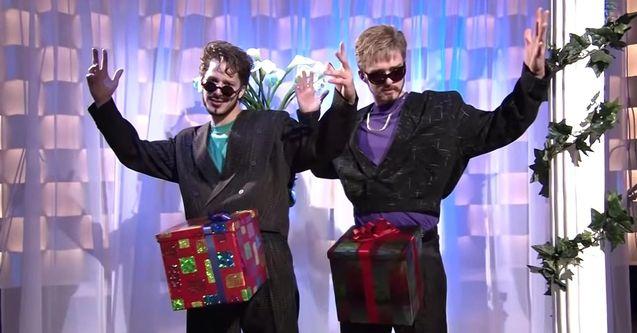 photo, Andy Samberg, Justin Timberlake
