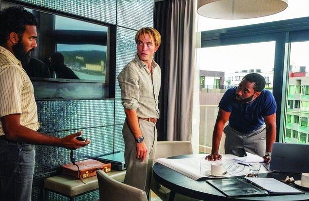photo, Robert Pattinson, John David Washington, Himesh Patel