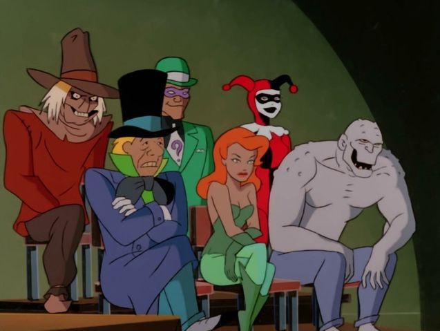 photo, Batman, la série animée