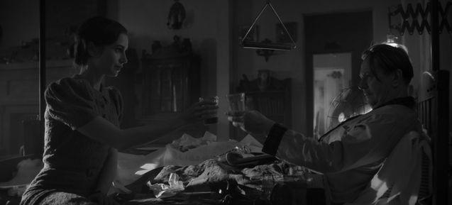photo, Lily Collins, Gary Oldman