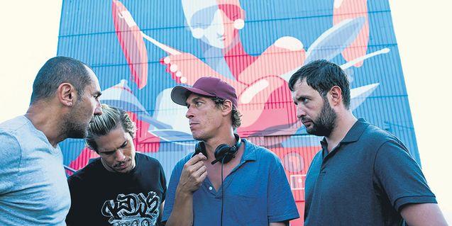 photo, Gilles Lellouche, François Civil, Karim Leklou, Cédric Jimenez