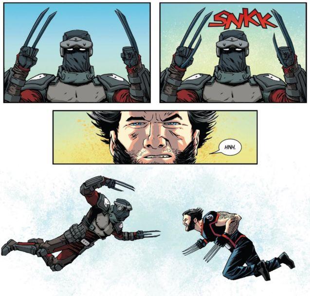 Daken vs Wolverine