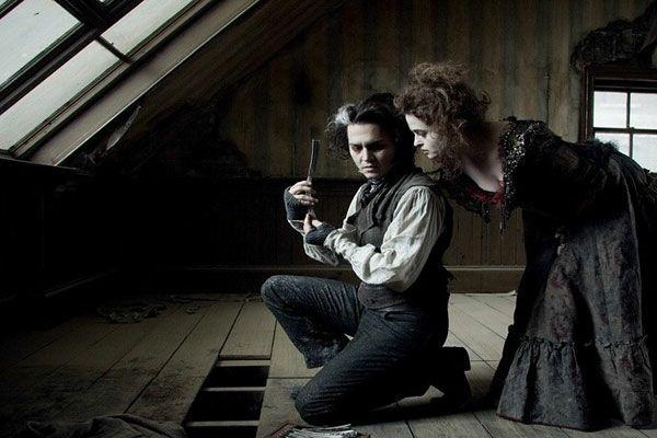 photo, Johnny Depp, Helena Bonham Carter