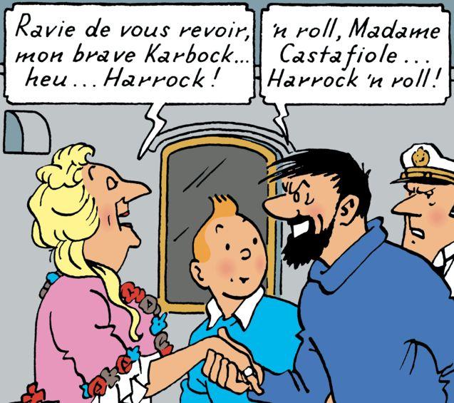 photo, Les Aventures de Tintin