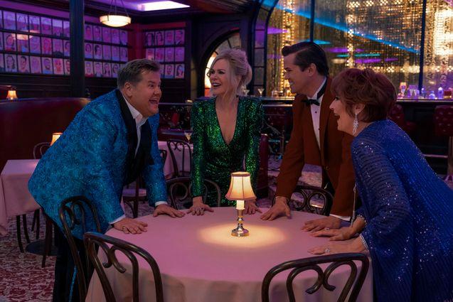 photo, James Corden, Meryl Streep, Nicole Kidman, Andrew Rannells