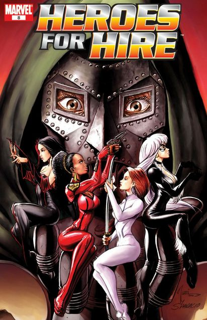 Heroes for Hire 28