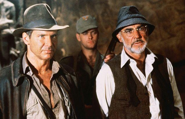 photo, Sean Connery, Harrison Ford