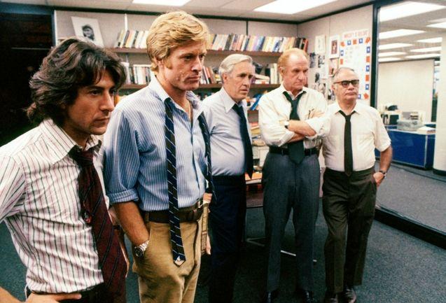 photo, Dustin Hoffman, Robert Redford