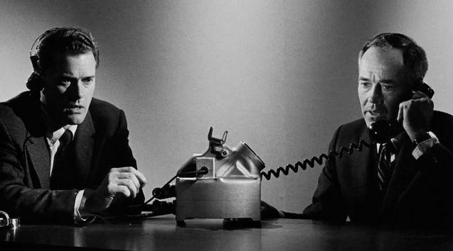 Photo Larry Hagman, Henry Fonda