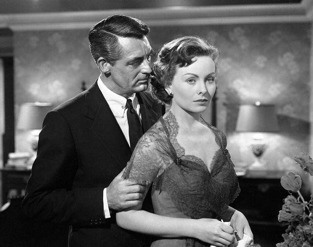 photo, Cary Grant, Jeanne Crain