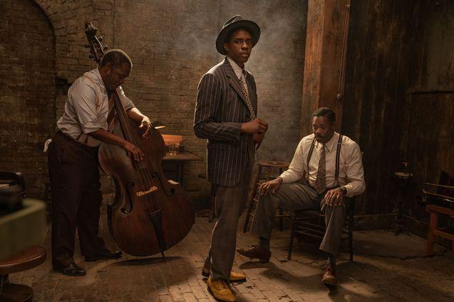 Photo Michael Potts, Chadwick Boseman, Colman Domingo