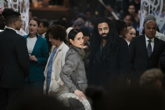 photo, Daveed Diggs, Jennifer Connelly