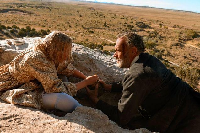 photo, Tom Hanks, Helena Zengel