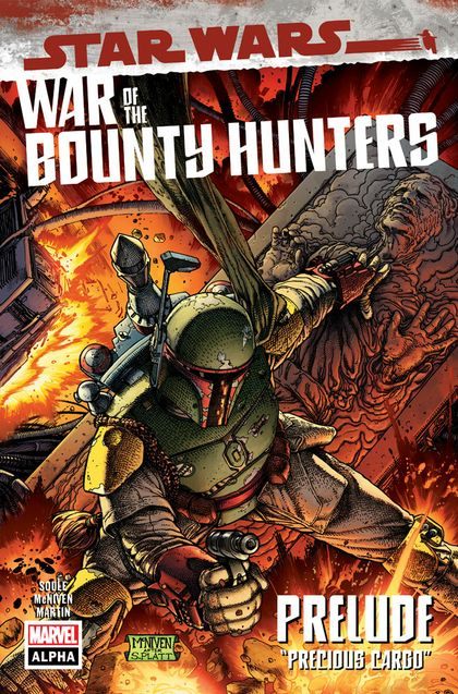 War of the Bounty Hunters cover