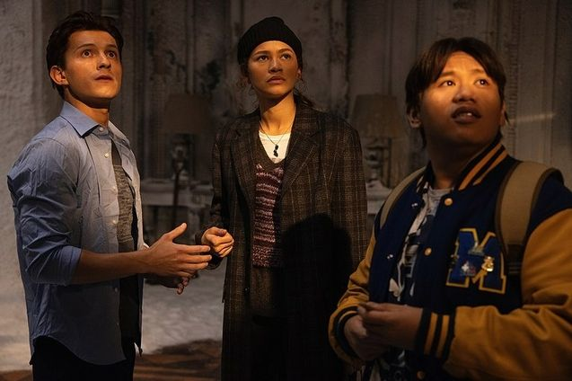 photo, Jacob Batalon, Zendaya, Tom Holland