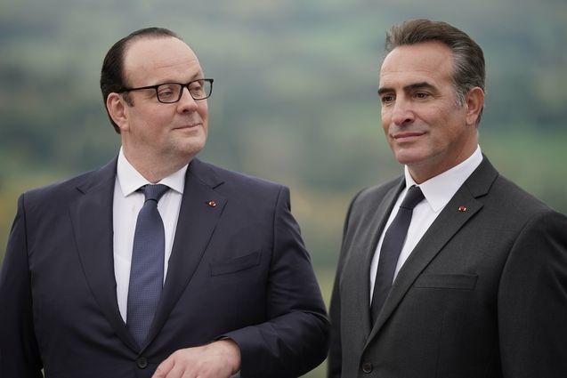 photo, Jean Dujardin, Grégory Gadebois