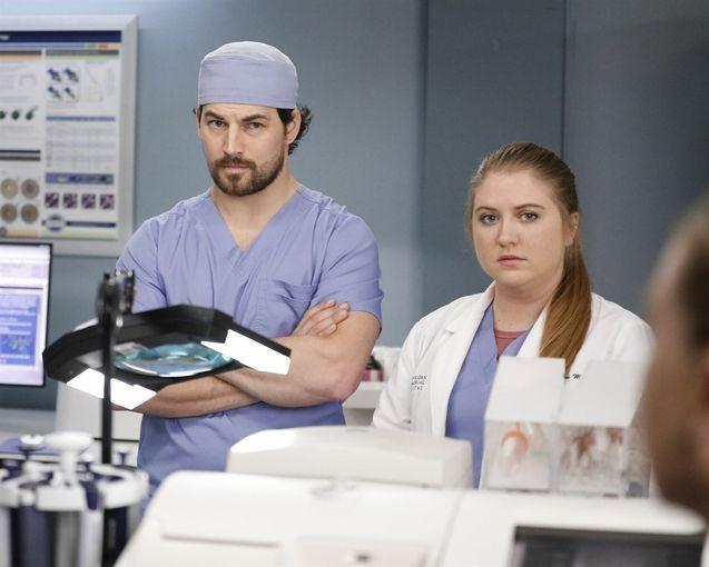 photo, Grey's Anatomy, Giacomo Gianniotti, Jaicy Elliot