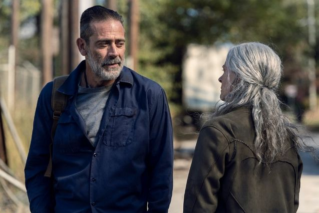 photo, Jeffrey Dean Morgan, Melissa McBride