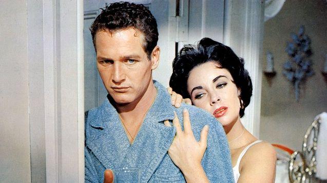photo, Elizabeth Taylor, Paul Newman
