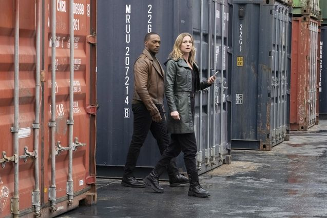 Photo Anthony Mackie, Emily VanCamp