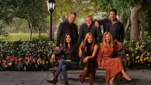 photo, Lisa Kudrow, Matt LeBlanc, Matthew Perry, David Schwimmer, Jennifer Aniston, Courteney Cox