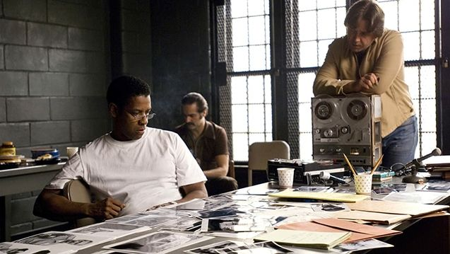 photo, Denzel Washington, Russell Crowe