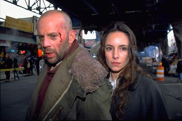 photo, Bruce Willis, Madeleine Stowe