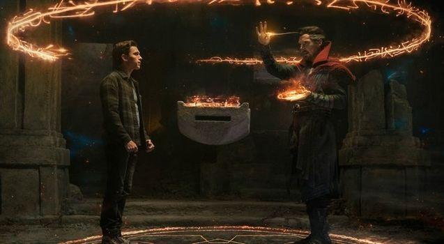 photo, Tom Holland, Benedict Cumberbatch