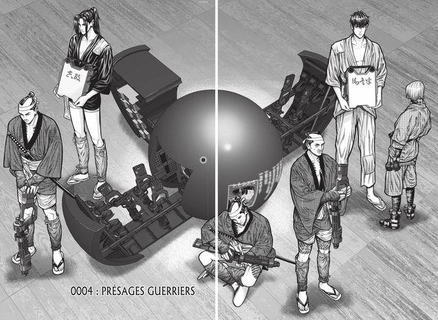 Planche 8, Hiroya Oku, KAGETSU Jin