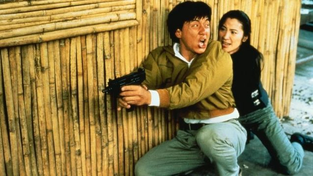 Photo, Jackie Chan, Michelle Yeoh