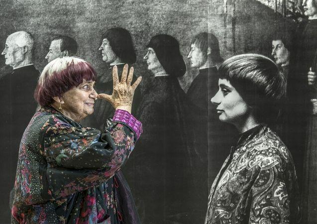 photo, Agnès Varda